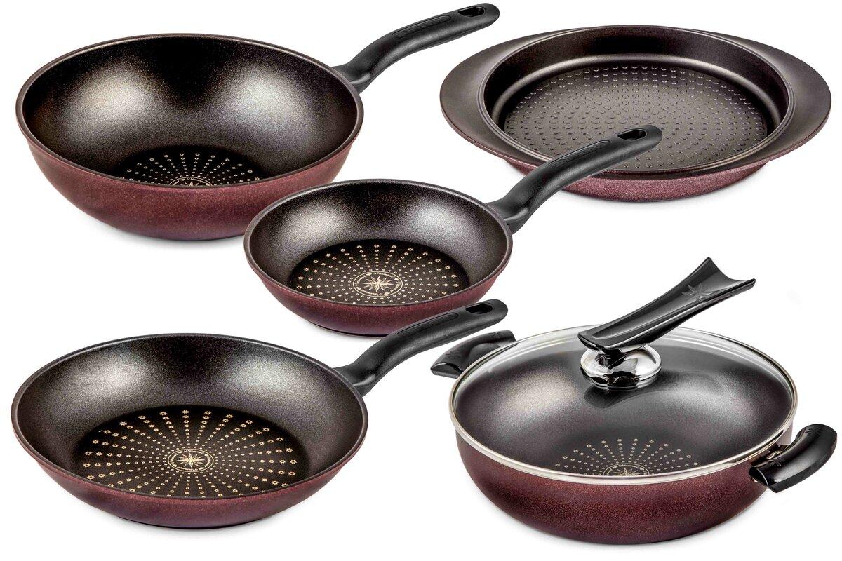 CHEFLINE Chocowine 6-Piece Cookware Set & Reviews | Wayfair