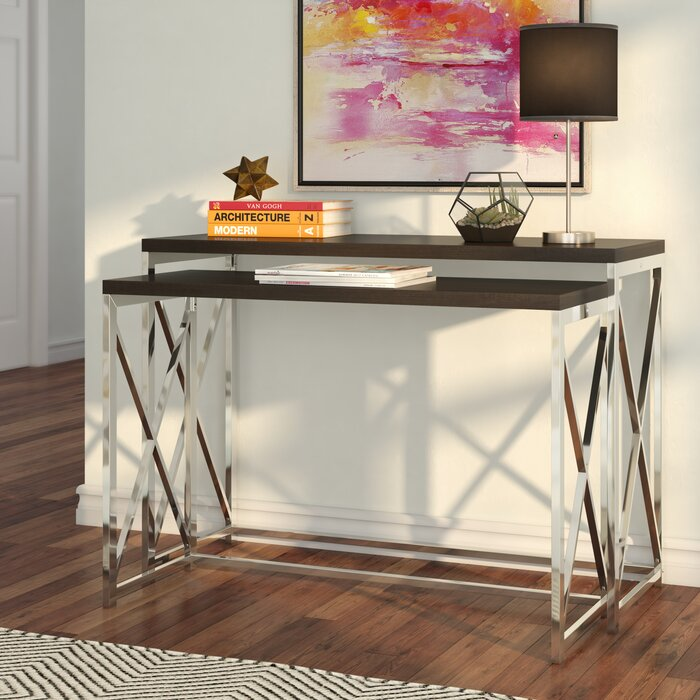 Mercury Row Balog 2 Piece Console Table Set & Reviews | Wayfair.ca