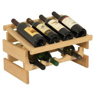 Dakota 8 Bottle Tabletop Wine Rack