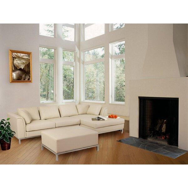 Beliani 3 Piece Leather Living Room Set Reviews
