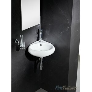 corner sink bathroom. Fine Fixtures Corner Bathroom Sinks You ll Love  Wayfair