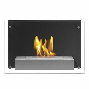 Senti Wall Mount Ethanol Fireplace by Ignis ..