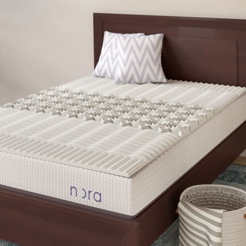 Alwyn Home Convoluted Twin Xl 1 5 Memory Foam Mattress Topper