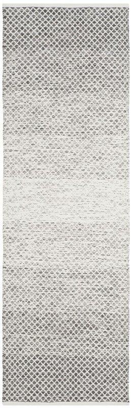 Williston Forge Amaya Hand Woven Gray Area Rug Amp Reviews