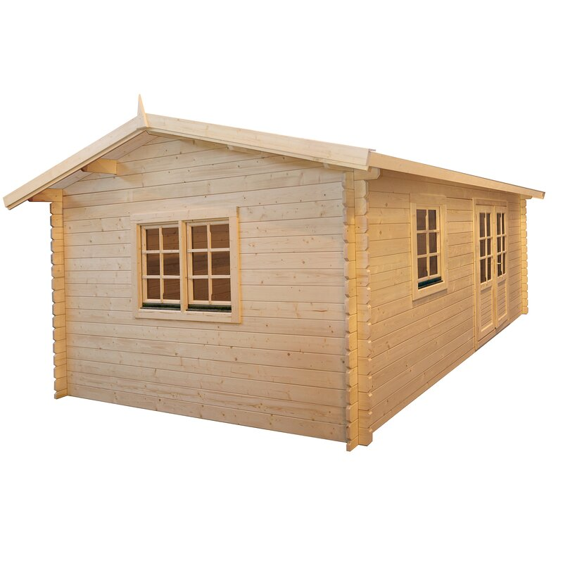 Solidbuild Aspen 9 Ft 8 In W X 12 Ft 5 In D Wooden Storage Shed