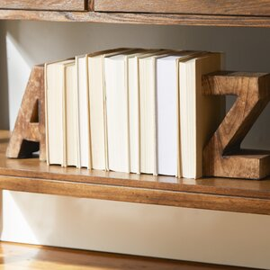 2-tlg. Buchstützen-Set A to Z von ModernMoments
