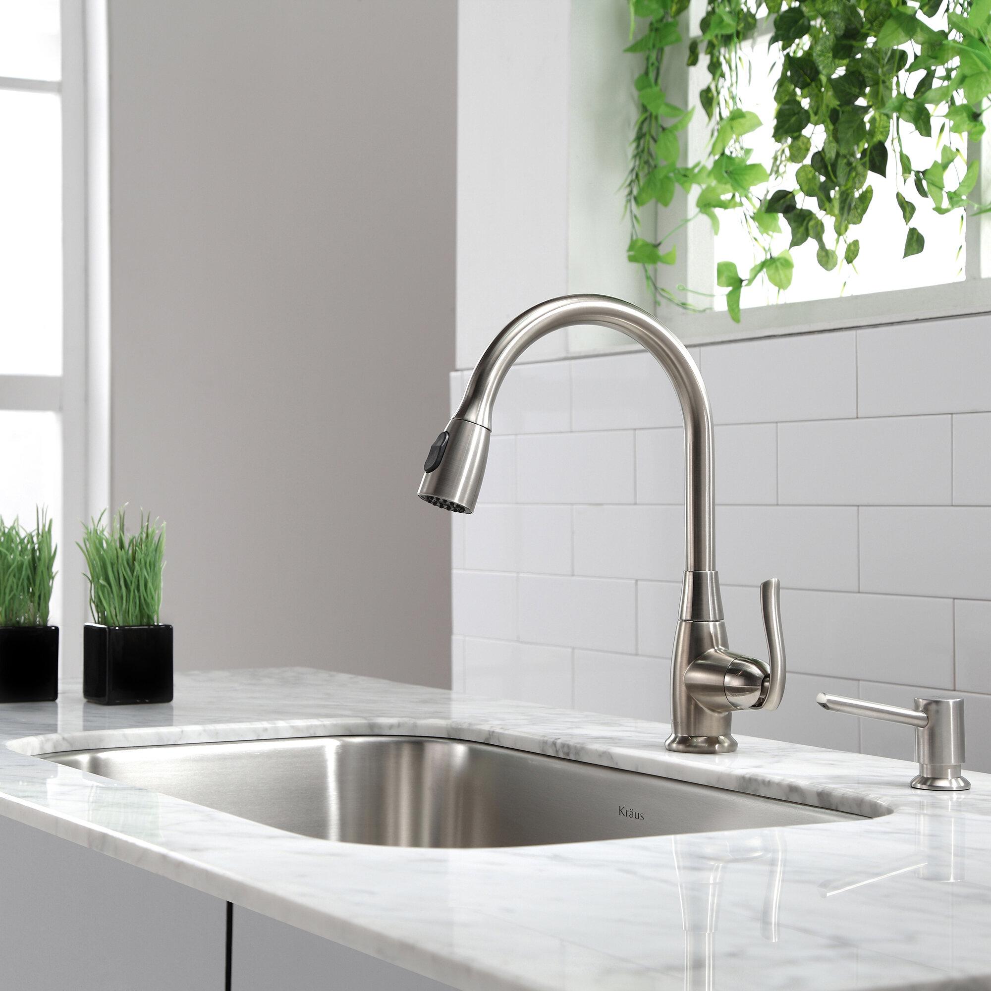 Kpf 2230ch Sn Orb Kraus Premium Faucets Pull Down Single Handle