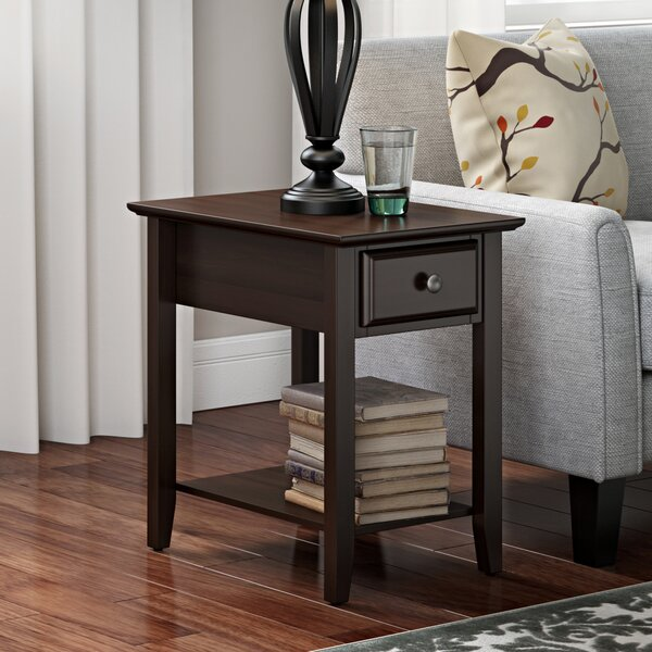Kinsella Coffee Table: Hadley End Table With Storage & Reviews