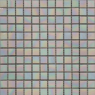 Iridescent 0 75 X Gl Mosaic Tile In Mediterranean Pearl