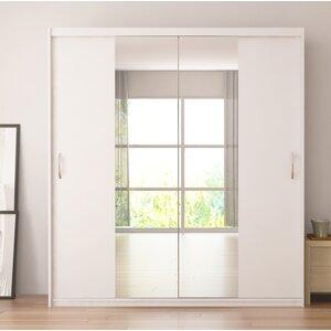 Zanders Armoire with Mirror Sliding Doors