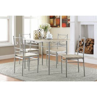Constandache 5 Piece Dining Set