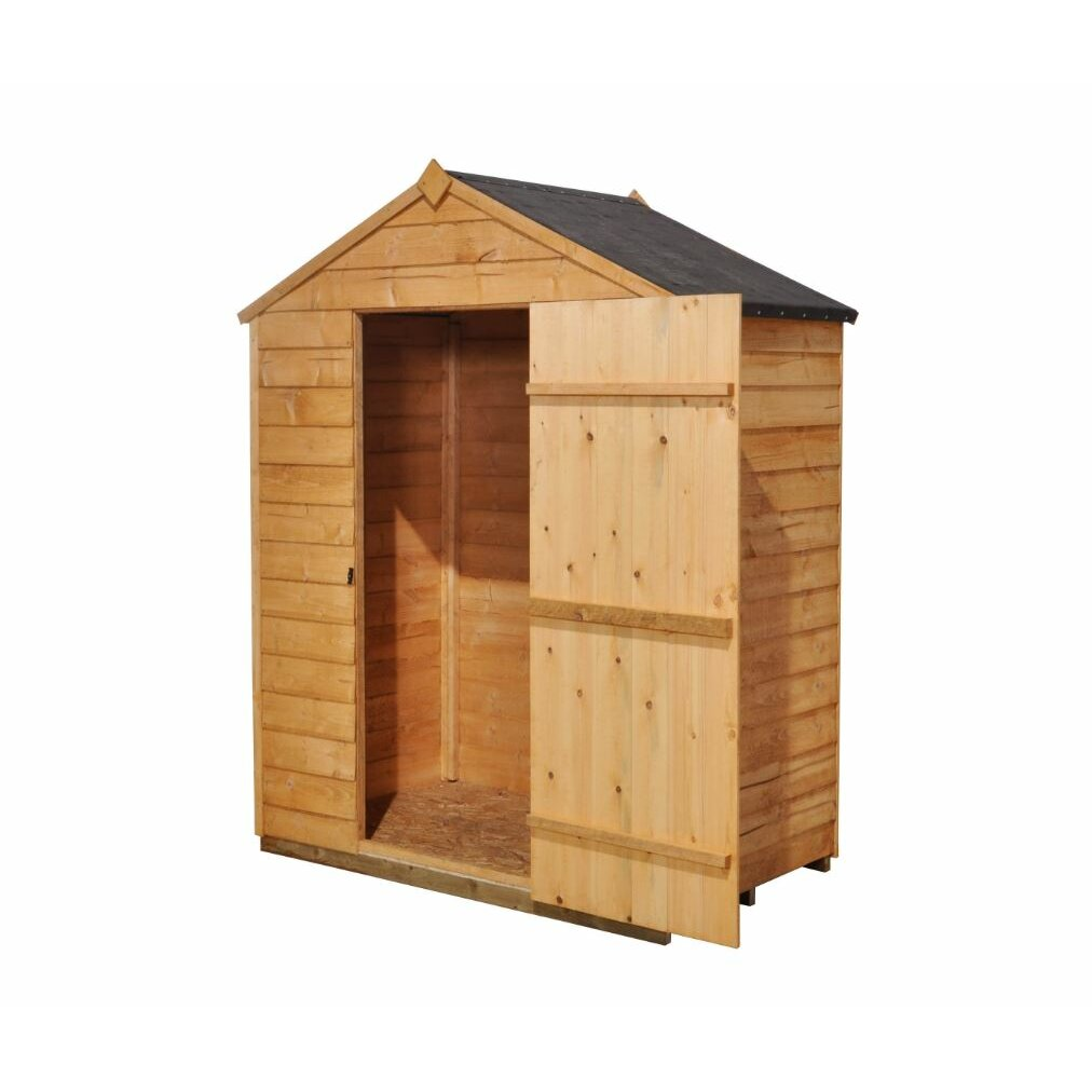 Forest Garden 5 X 3 Wooden Storage Shed Amp Reviews