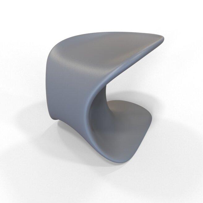 Tenjam Rotomold Stacking Patio Dining Chair