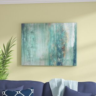 U0027Abstract Spau0027 Graphic Art Print On Wrapped Canvas. By Beachcrest Home