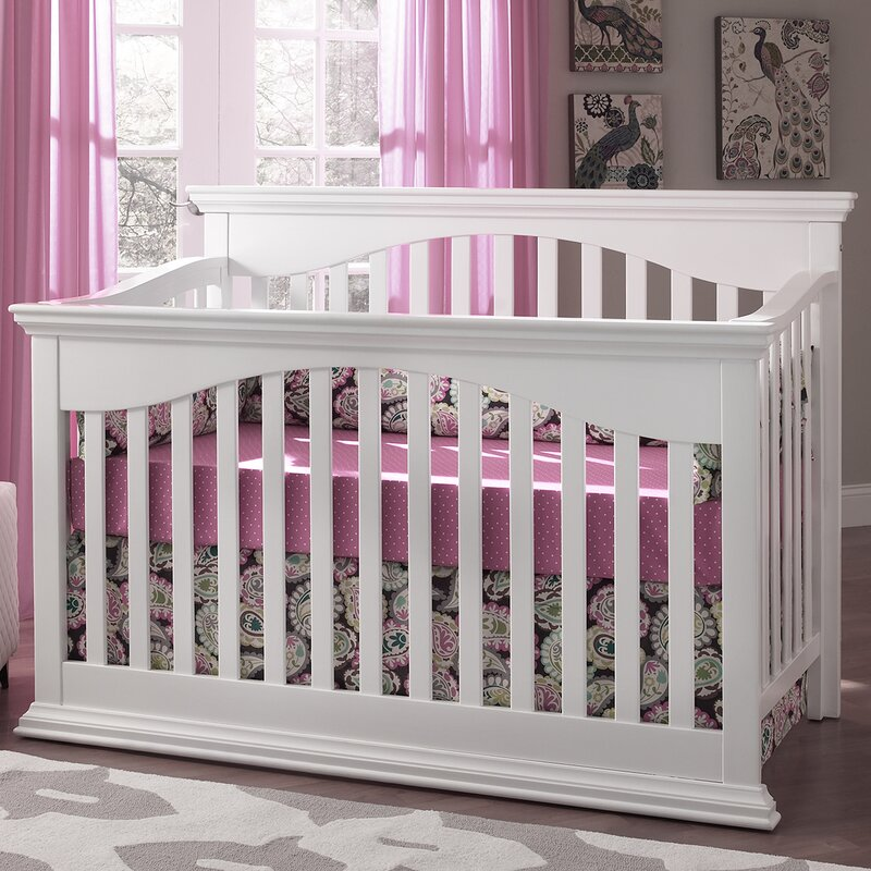 Suite Bebe Bailey 4-in-1 Convertible Crib & Reviews | Wayfair