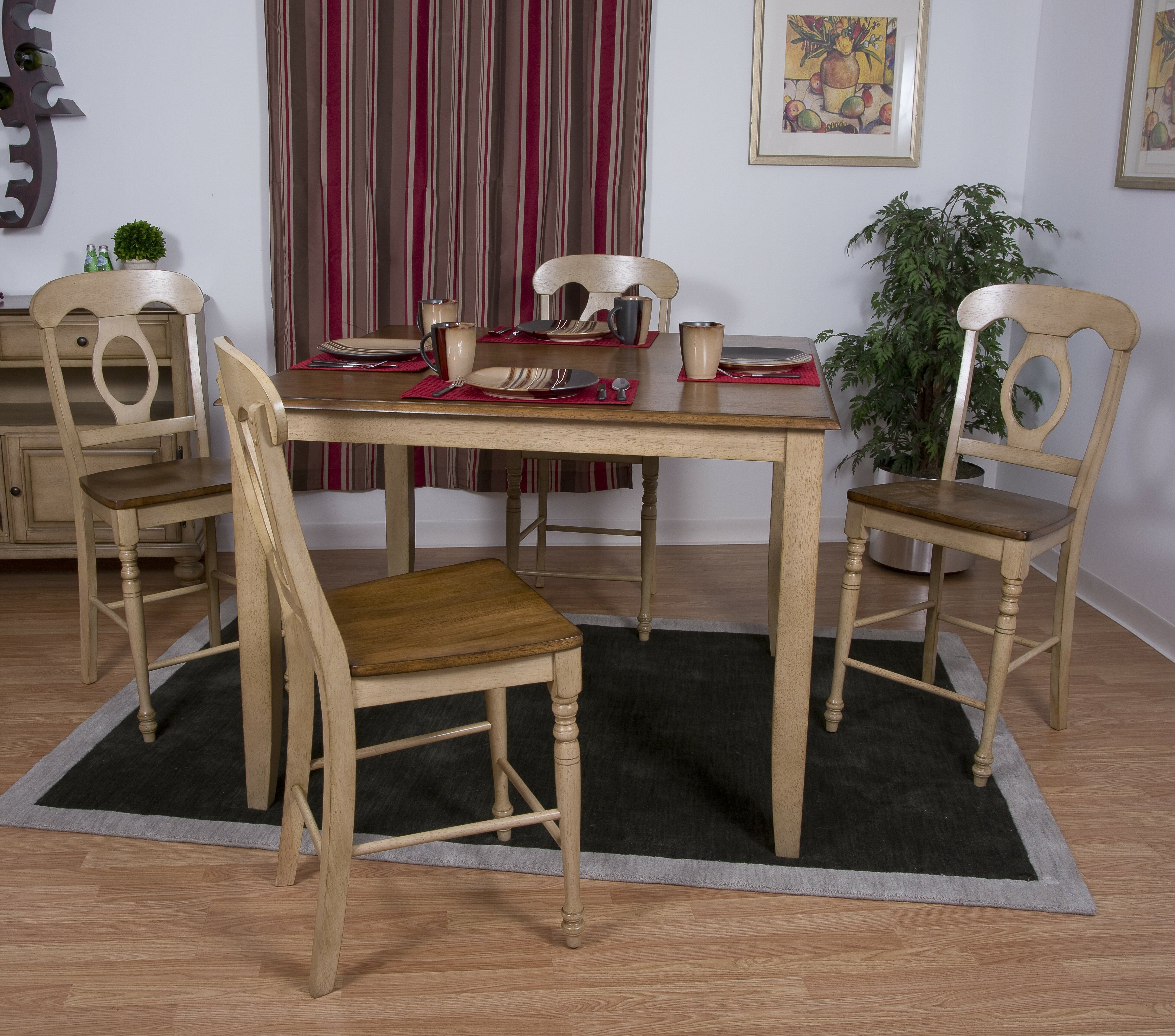 Loon peak huerfano valley 6 piece pub table set reviews for Cie publication 85 table 2