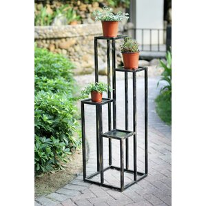 4 Tier Cast Iron Plant Stand