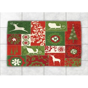 Holiday Patchwork Area Rug