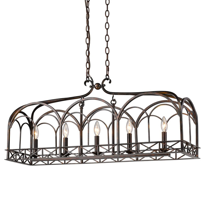 Mcdaniels Kitchen And Bath: Darby Home Co McDaniel 5-Light Kitchen Island Pendant