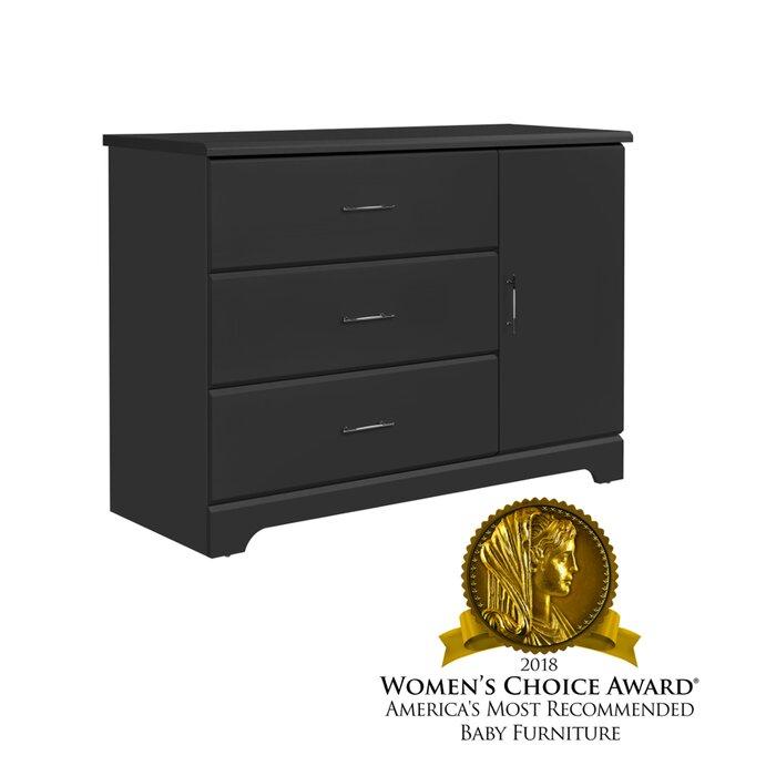Pleasing Brookside 3 Drawer Combo Dresser Home Remodeling Inspirations Cosmcuboardxyz
