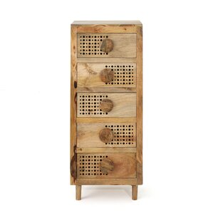 Yreka 5 Drawer Lingerie Chest by Bungalow Rose