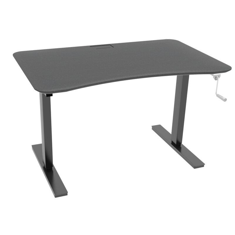 Charmant Manual Hand Crank Standing Desk