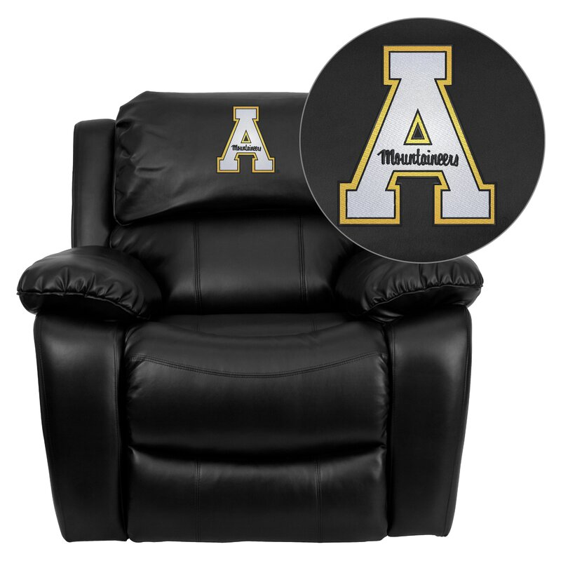 Ordinaire Personalize Rocker Leather Recliner