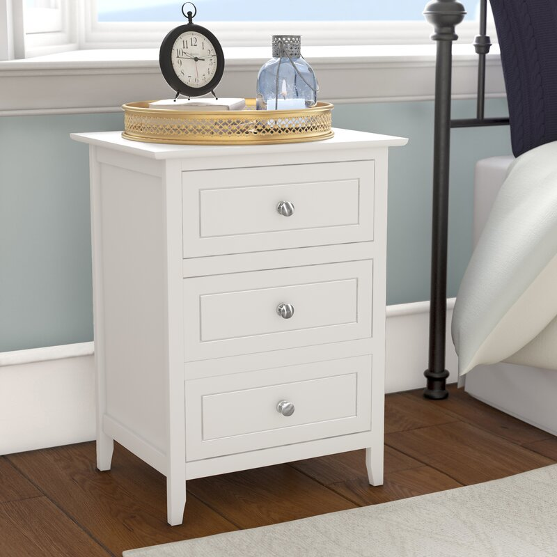 Night Stand Table Designs : Wayfair lark manor ovellette 3 drawer nightstand