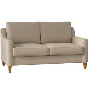 Simmons Flannel Charcoal Sofa | Wayfair