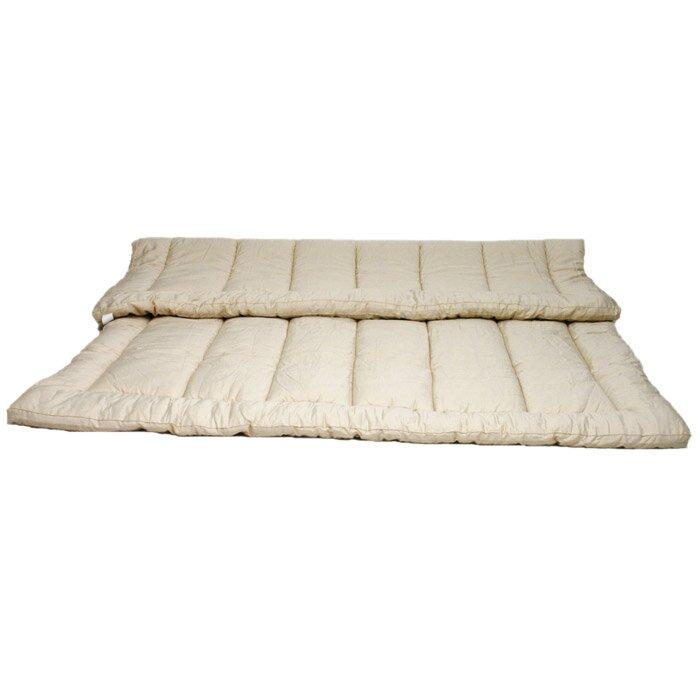 Sleep Amp Beyond Organic 1 5 Quot Wool Mattress Topper Amp Reviews