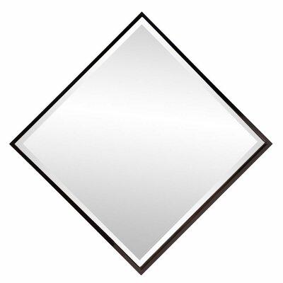 Brayden Studio Swind Bright Accent Mirror Finish: Black