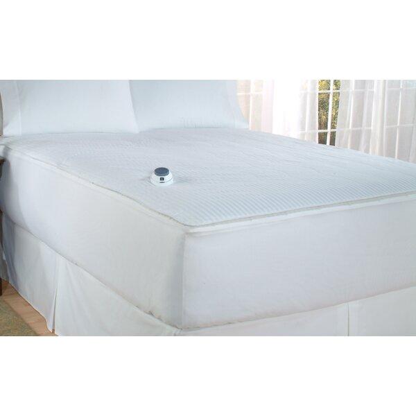 Perfect Fit Industries Soft Heat Polyester Heated Mattress Pad U0026 Reviews |  Wayfair