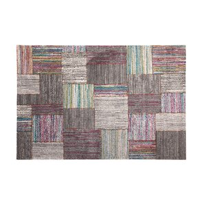 Shurtz Gray/Pink/Blue Area Rug