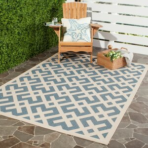 Quinlan Blue Indoor/Outdoor Area Rug