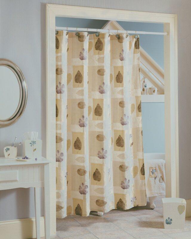 Croscill Spa Leaf Shower Curtain & Reviews