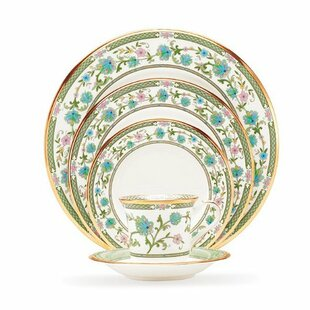 Yoshino Bone China 20 Piece Dinnerware Set Service for 4  sc 1 st  Wayfair & Key West Dinnerware | Wayfair