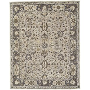 Great Price Corsham Hand Tufted Gray Area Rug By Charlton Home