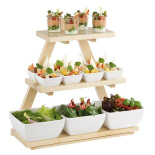 Triangle Buffet Stand by APS