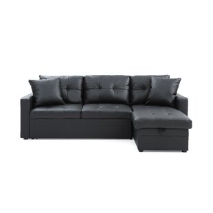 Small Leather Sofa With Chaise | Wayfair