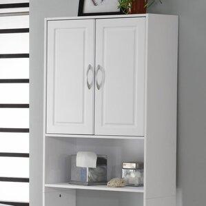 Black Wall Cabinet Bathroom wall mounted bathroom cabinets you'll love   wayfair