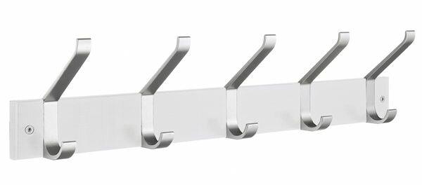 Bathroom Hardware Humble Quality Chrome Double Coat Hooks Door Bedroom Hooks Hanger Hook For Clothes Coat Hat Bag Towel Hanger Bathroom Wall Hook Rack Home Improvement