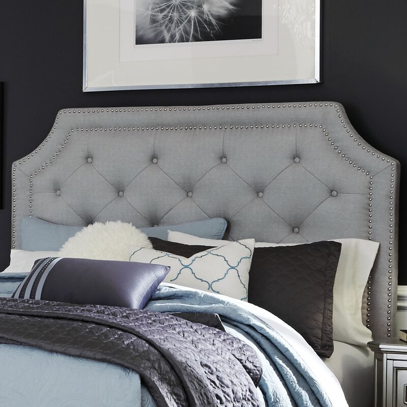 Haneul Silver Upholstered Panel Headboard