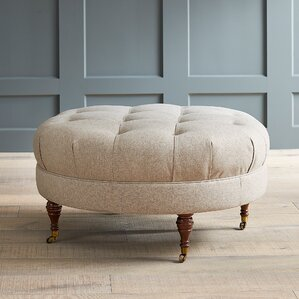 Farrwood Ottoman by Darby Home Co
