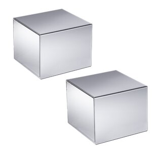 Echo Mirrored End Table (Set of 2)