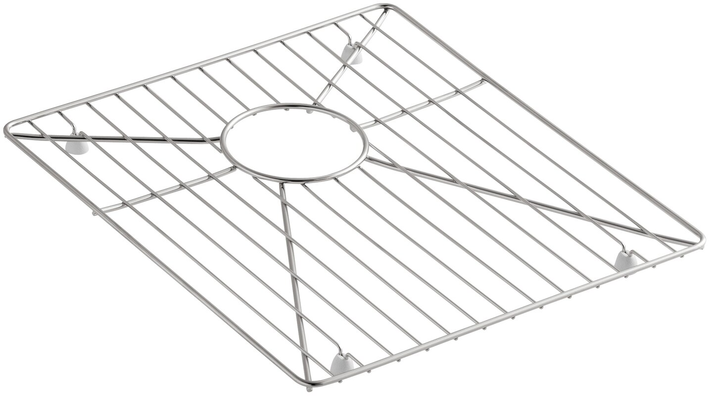 kohler stainless steel sink rack 15 15 16 x 14 for vault k 3820 and k 3838 kitchen sinks. Black Bedroom Furniture Sets. Home Design Ideas
