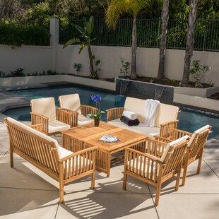 wicker patio furniture sets. Roosevelt 8 Piece Sofa Set With Cushions Wicker Patio Furniture Sets