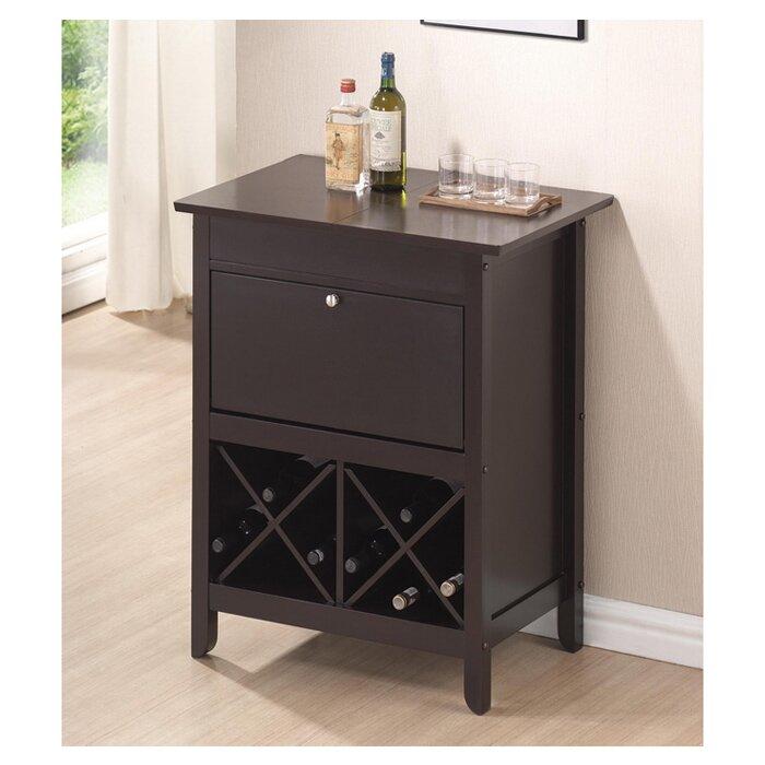 Ingalls Dry Bar With Wine Storage