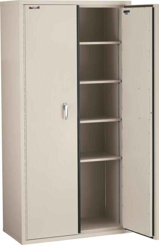 High Quality Fireproof Double Door Storage Cabinet