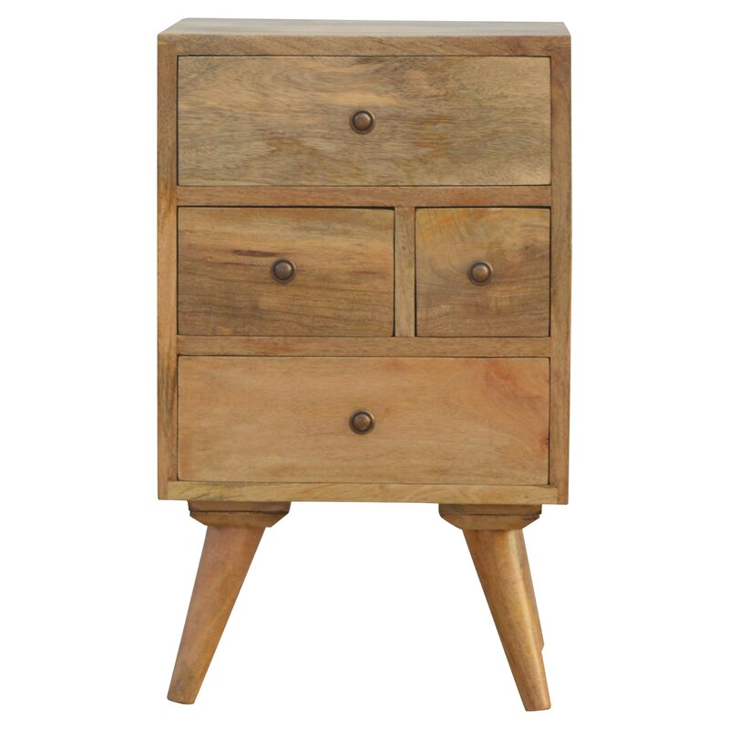 Carmelita  Drawer Bedside Table
