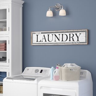 The Laundry Room Wall Decor
